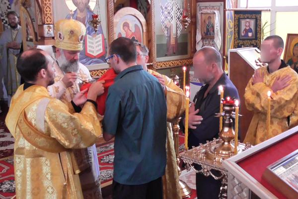 В ИК-5 состоялось Божественная Литургия