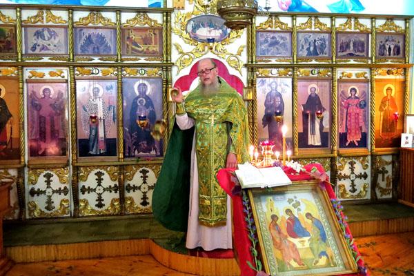 В ФКУ ИК-1 УФСИН России по Рязанской области провели молебен в честь великого праздника Дня Святой Троицы