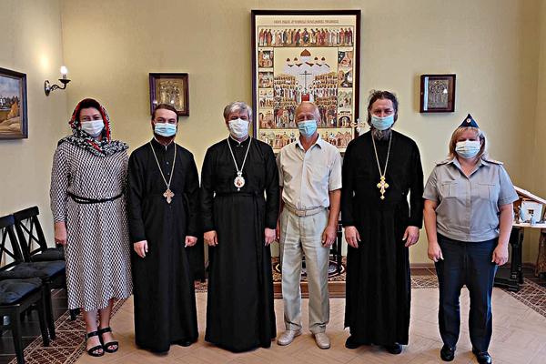 Состоялась встреча сотрудников УФСИН с епископ Касимовским и Сасовским Василием